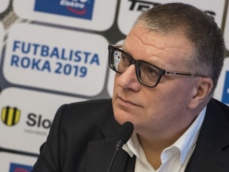 Prezident Slovenského futbalového zväzu Ján Kováčik