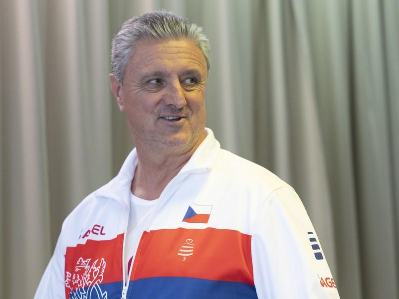 Nehrajúci kapitán českého tímu Jaroslav Navrátil