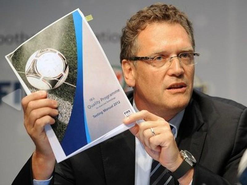 Generálny sekretár Medzinárodnej futbalovej federácie FIFA Jerome Valcke