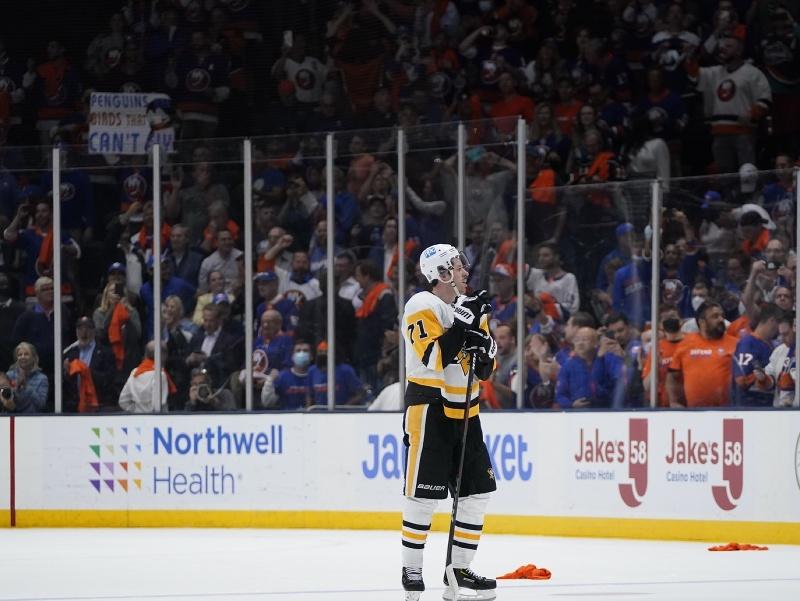 Jevgenij Malkin po zápase s New York Islanders