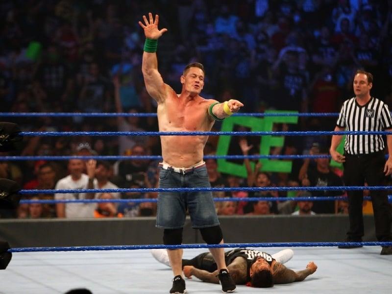 John Cena v zápase WWE