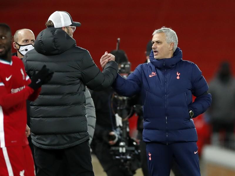 Jürgen Klopp a José Mourinho