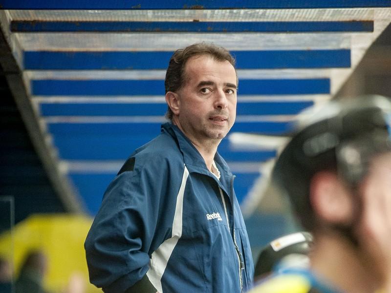 Na snímke hlavný tréner Detvy Josef Turek