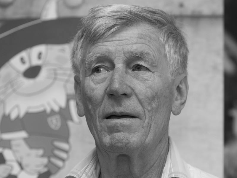 Bývalý slovenský futbalista a tréner Jozef Adamec počas stretnutia hráčov československej futbalovej reprezentácie z majstrovstiev sveta (MS) v Čile, kde v roku 1962 získali strieborné medaily