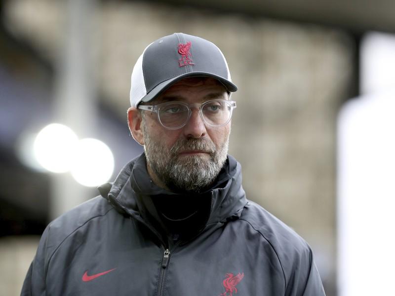 Tréner Liverpoolu Jürgen Klopp