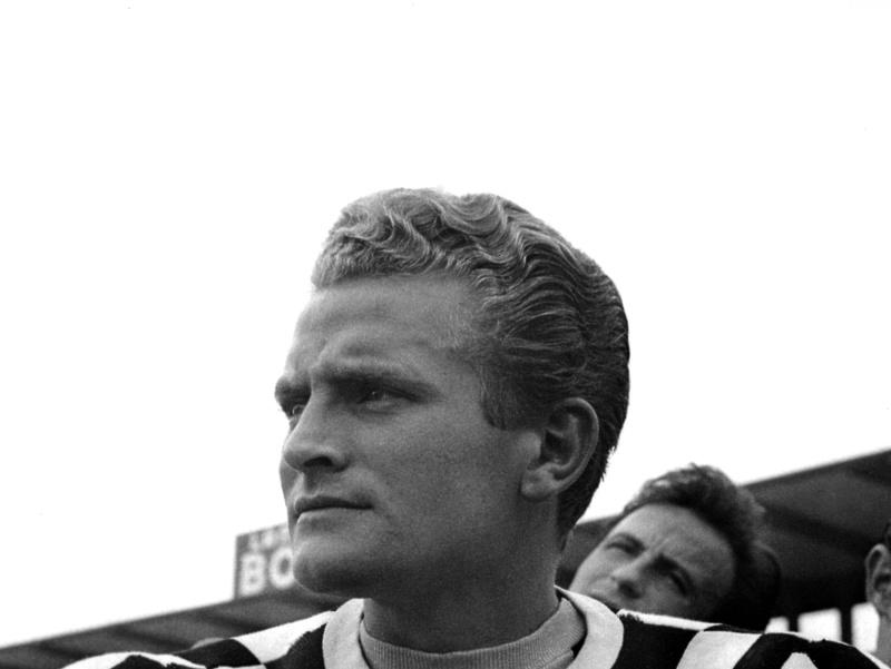 Bývalý futbalista a prezident Juventusu Turín Giampiero Boniperti