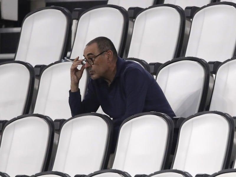Tréner Juventusu Turín Maurizio Sarri