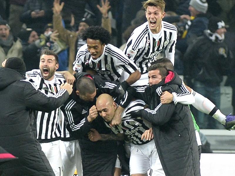 Simone Zaza oslavuje gól
