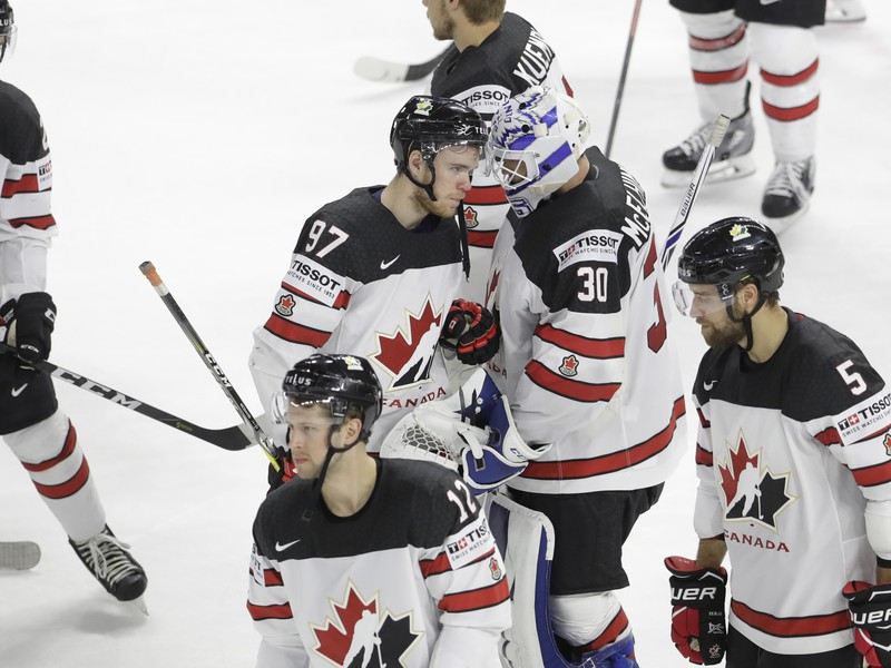 Smutní hráči Kanady