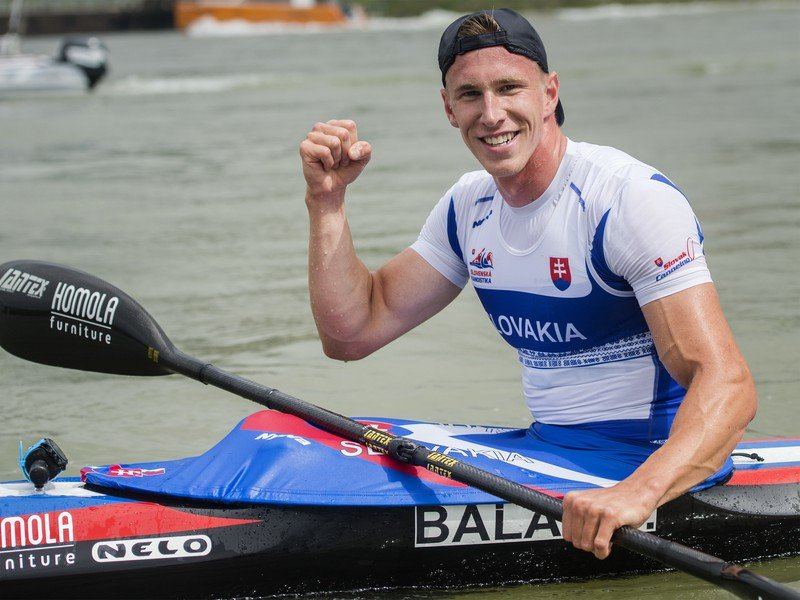Kanoista Samuel Baláž prekonal svetový rekord