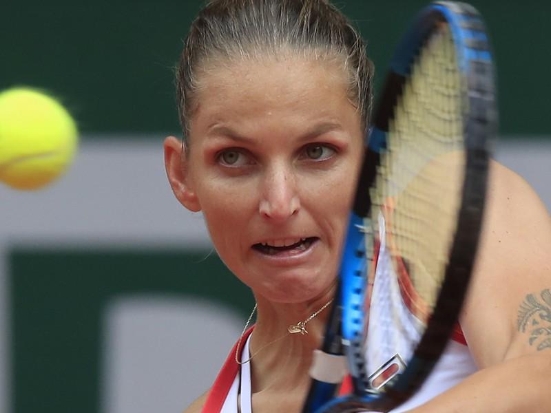 Česká tenistka Karolína Plíšková