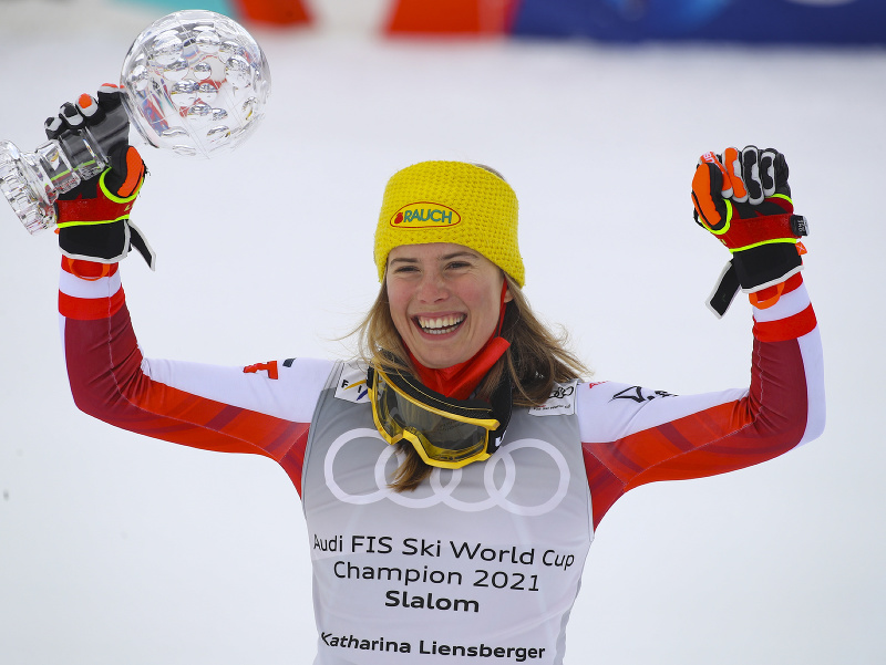 Katharina Liensbergerová sa stala držiteľkou malého krištáľového glóbusu