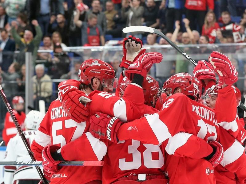 Hokejisti HC Spartak Moskva