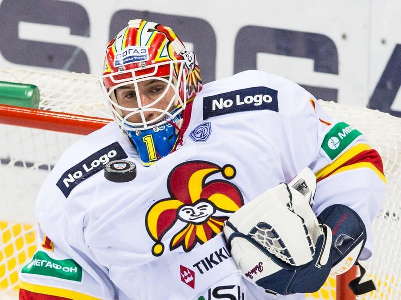 Brankár Jokeritu Henrik Karlsson