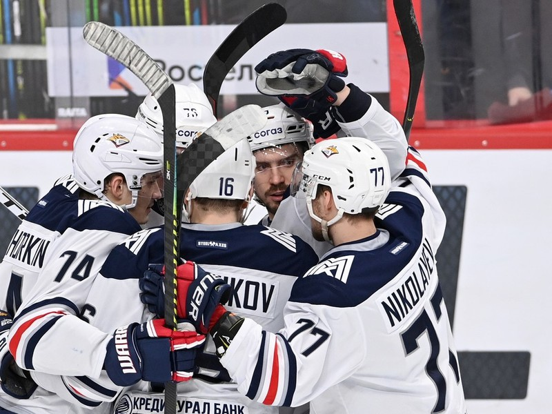 Hokejisti Metallurgu Magnitogorsku