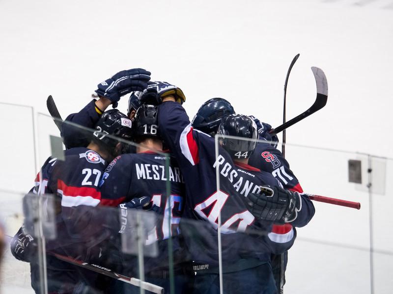 Gólové oslavy hokejistov HC Slovan Bratislava