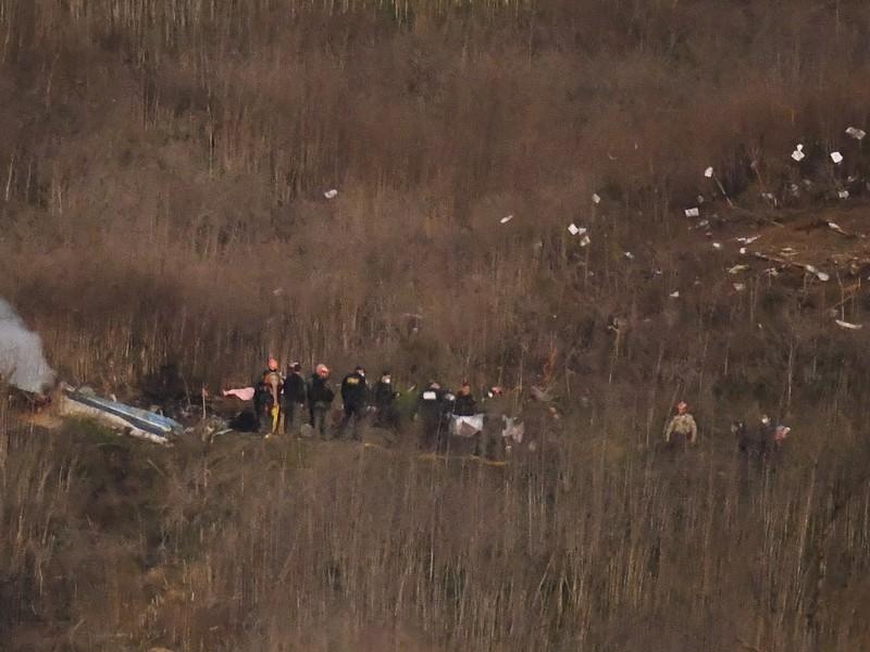 Nehoda helikoptéry, pri ktorej zahynul Kobe Bryant s dcérou Giannou