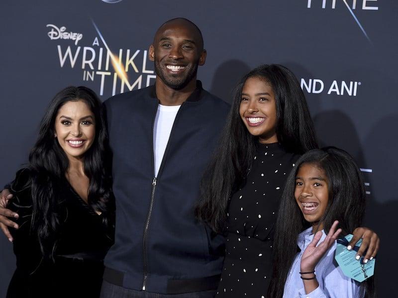 Kobe Bryant s rodinkou