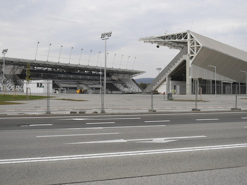 Na snímke Košická futbalová aréna 23. septembra 2020 v Košiciach