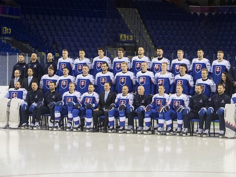 Spoločná tímová foto slovenských reprezentantov