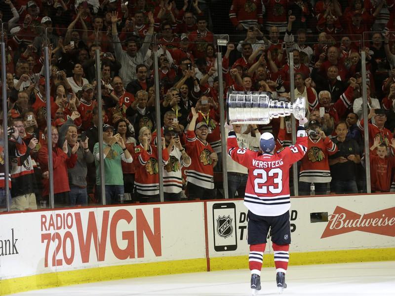 Kris Versteeg sa raduje zo zisku Stanley Cupu