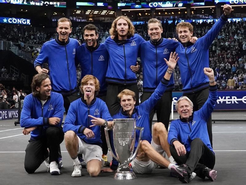 Na Laver Cupe triumfoval opäť výber Európy