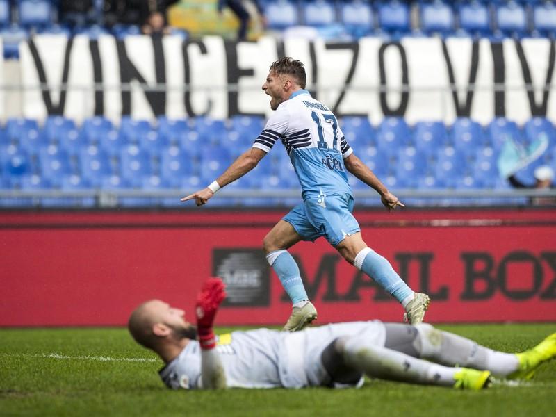 Ciro Immobile a jeho gólové oslavy