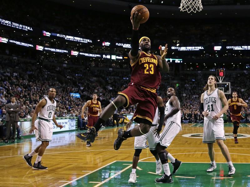 LeBron James z Cleveland Cavaliers