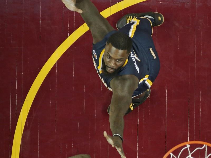 Hráč Clevelandu Cavaliers LeBron James