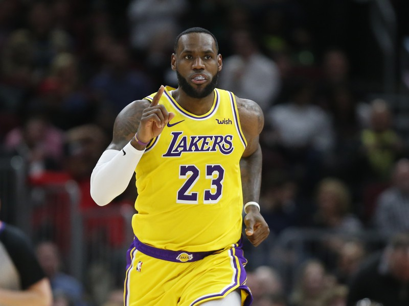 Hráč Los Angeles Lakers LeBron James