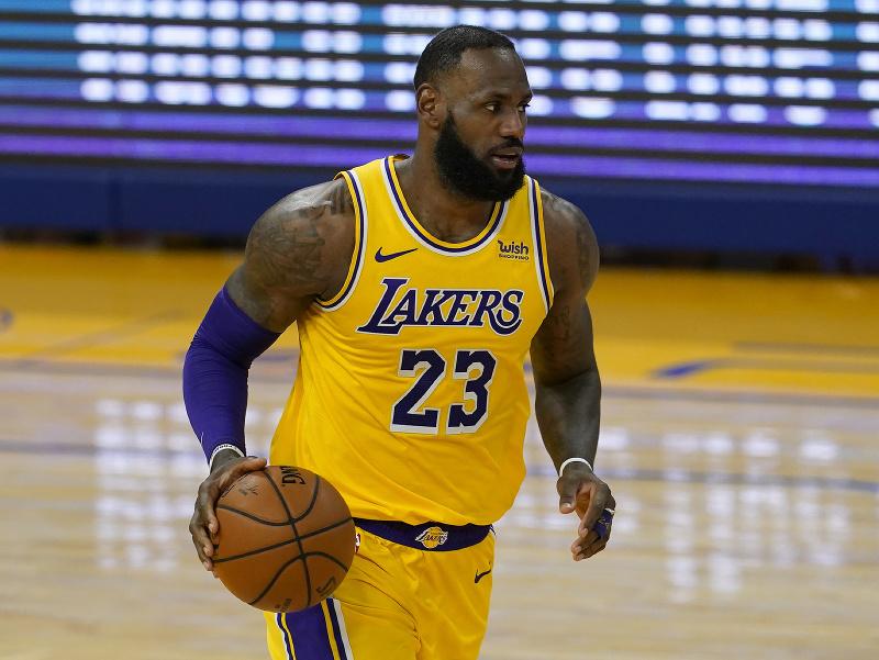 Hráč Lakers LeBron James