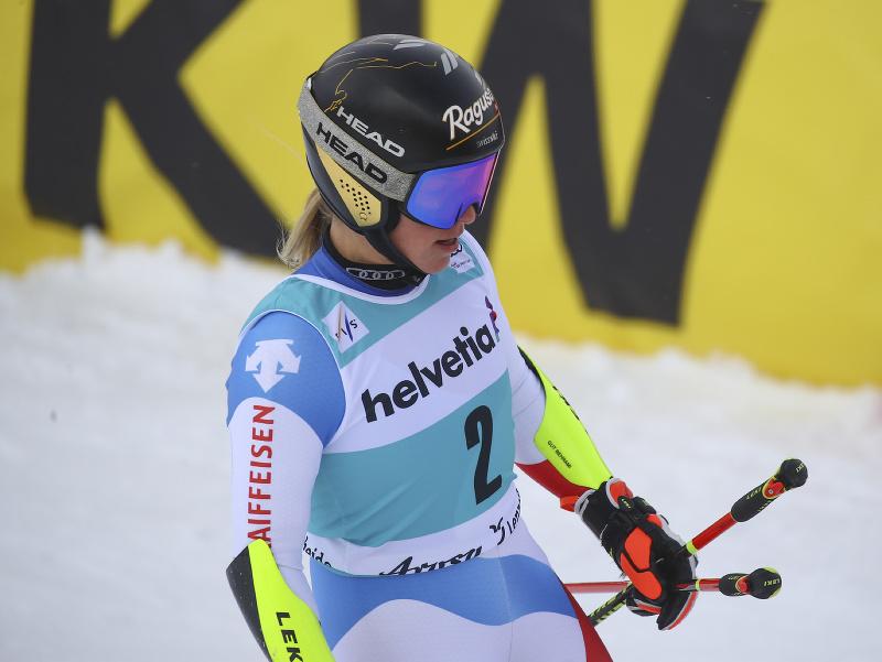 Lara Gut-Behramiová nečakane skončila v obrovskom slalome