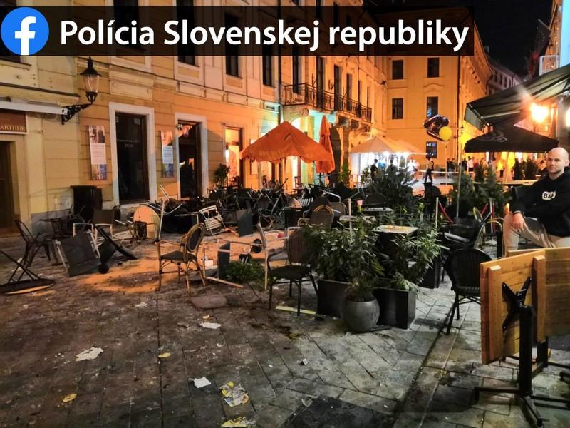 Chuligáni v bratislavských uliciach