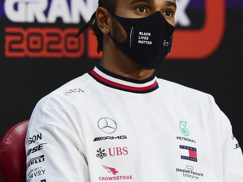 Sedemnásobný majster sveta F1 Lewis hamilton