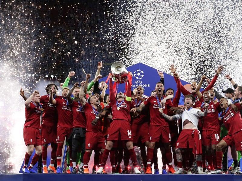 Úradujúci šampión Ligy majstrov FC Liverpool
