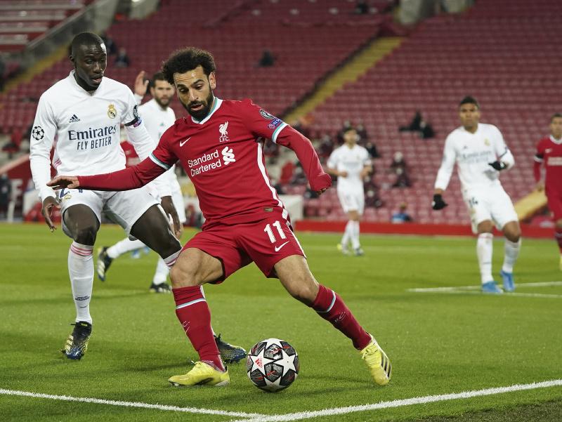 Mohamed Salah a Ferland Mendy