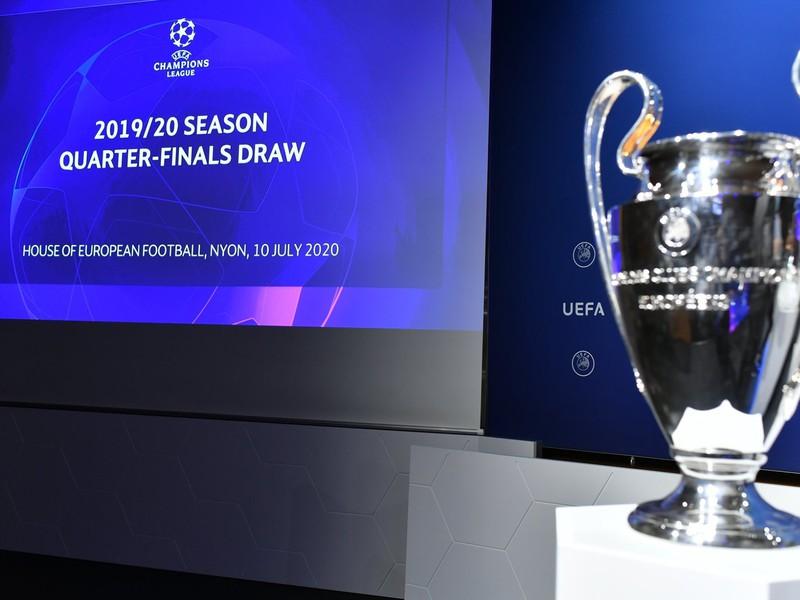 Štvrťfinálový žreb Ligy majstrov 2019/2020