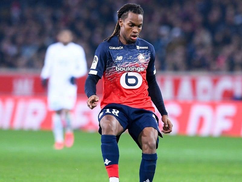 Renato Sanches v drese Lille
