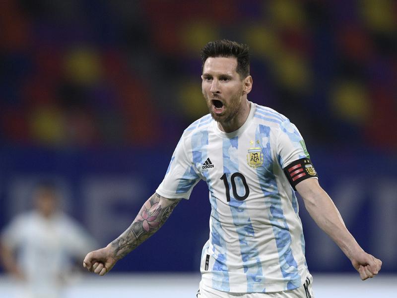 Lionel Messi v reprezentačnom drese