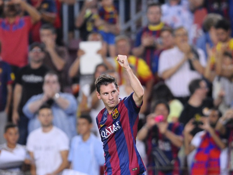 Lionel Messi a jeho gólové oslavy