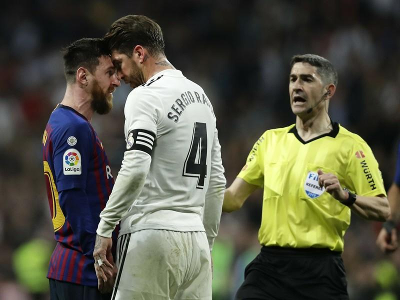 Lionel Messi verzus Sergio Ramos