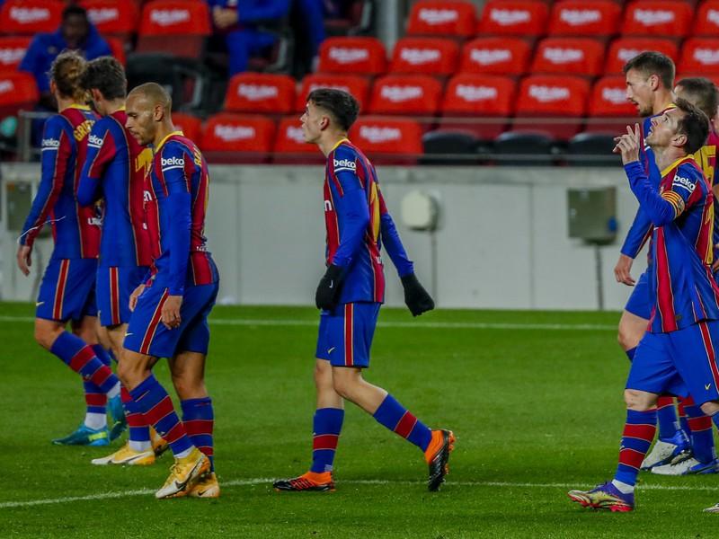 Lionel Messi v zápase proti Levante