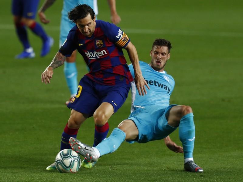Lionel Messi a Ruben Pérez