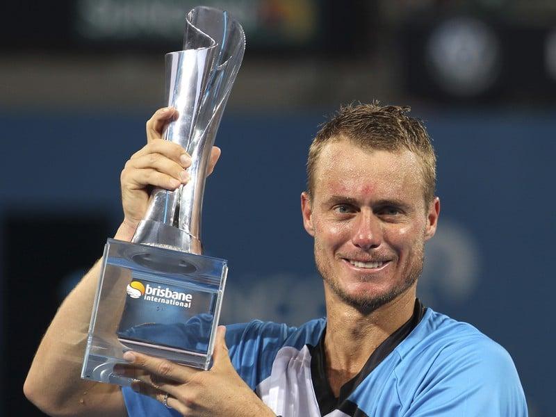 Lleyton Hewitt s titulom z turnaja v Brisbane