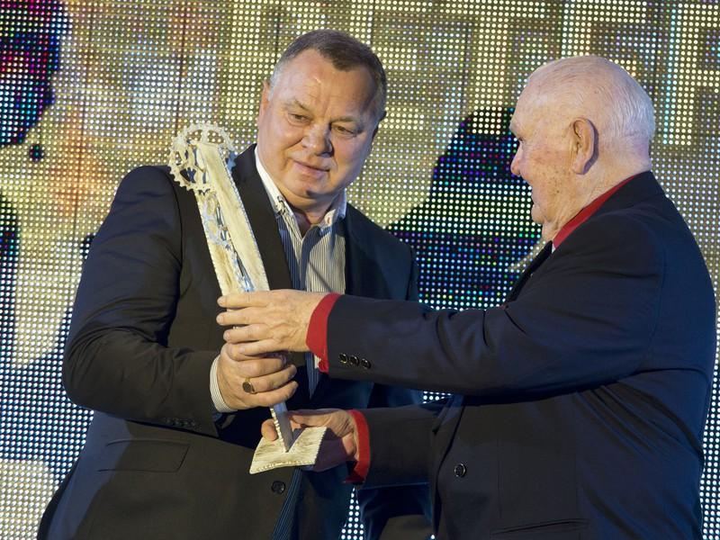 Zo slávnostného galavečera ankety Zlatý pedál, na ktorom Slovenský zväz cyklistiky (SZC) udeľoval ocenenia pre najlepších slovenských cyklistov