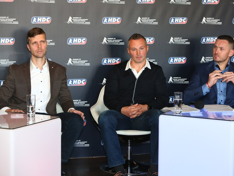 Norbert Javorčík, Ľubomír Višňovský a Miroslav Lažo