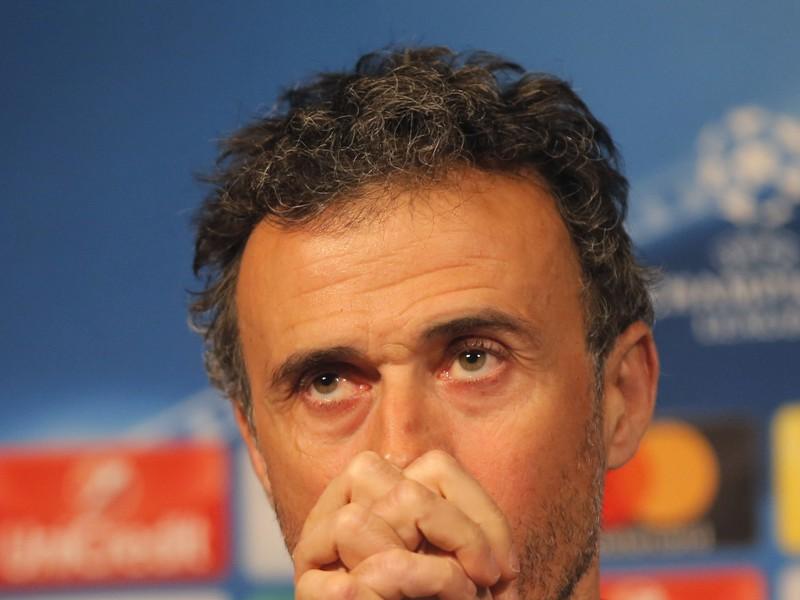 Tréner Barcelony Luis Enrique