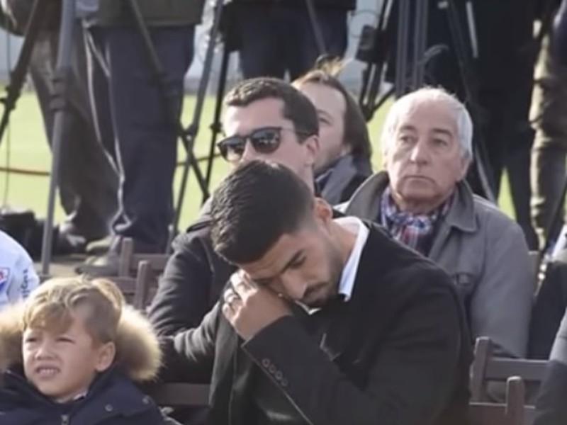 Dojatý Luis Suárez