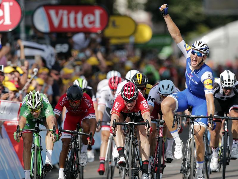 Marcel Kittel sa raduje z triumfu na šiestej etape