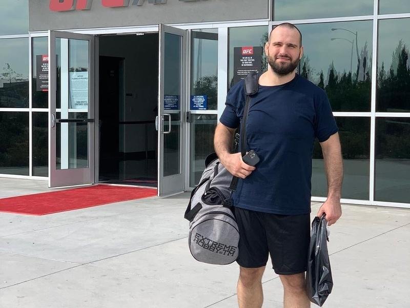Martin Buday pred zápasom v Dana White´s Contender Series